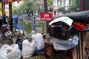Càng cấm càng đổ rác