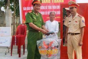 Quảng Trị: Công an huyện Cam Lộ góp sức thay đổi bộ mặt nông thôn