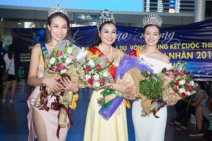 Người đẹp Xuân Thùy được xướng tên Á Hoàng 1 trong cuộc thi Nữ Hoàng Sắc Đẹp Doanh Nhân 2018