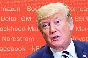 15 công ty từng bị ông Trump 'công kích' trên Twitter