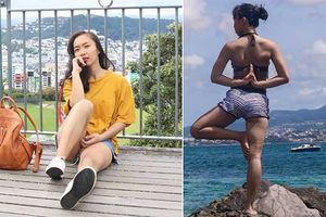 Dáng chuẩn, eo thon, thân hình đẹp bất chấp tuổi tác chỉ nhờ tập yoga theo cách của cô gái trẻ Sài Gòn