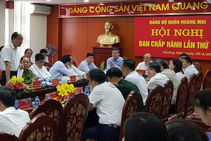Quận Hoàng Mai tăng cường công tác PCCC nhà cao tầng