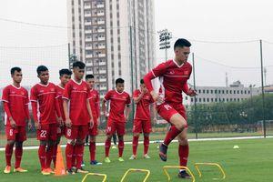 U19 Việt Nam hứng khởi bước vào buổi tập đầu tiên