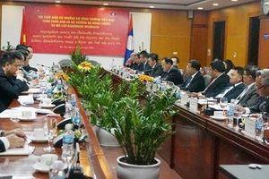 Việt - Lào thống nhất sửa đổi Hiệp định hợp tác trong lĩnh vực năng lượng và khoáng sản