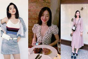 Dính tin đồn tình cảm với Jin Ju Hyung, thời trang của Chi Pu ngày càng nữ tính và đơn giản bất ngờ
