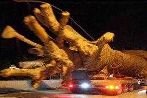 Vụ xe chở cây 'quái thú' trên QL1A: Điểm đến Ecopark Hưng Yên?