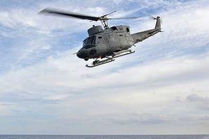 Trực thăng SH 212 của quân đội Italy đâm xuống Địa Trung Hải
