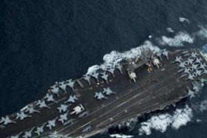 Tàu Liêu Ninh tập trận, Mỹ điều tàu sân bay đến 'nắn gân'
