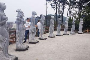 Tranh cãi xung quanh vườn tượng 12 con giáp khỏa thân