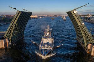Hơn 40 tàu chiến Nga sẽ tham gia Ngày Hải quân 2018