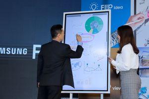 Chính thức ra mắt bảng điện tử Samsung Flip WM55H