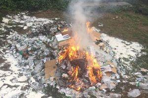 Hơn 10.000 hộp sữa bị tiêu hủy 'oan', tỉnh Lào Cai nói gì?