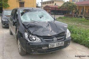 Khởi tố chủ tịch xã lái ô tô đâm 4 học sinh thương vong