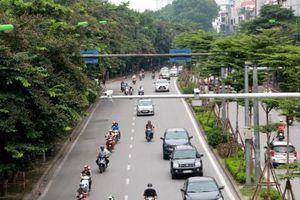 Hà Nội phân luồng giao thông thi công ga đường sắt tại Kim Mã