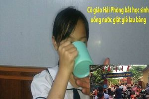 Cô giáo bắt học sinh 'súc miệng' bằng nước lau bảng: Không khác nhục hình, tội ác