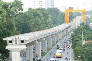 Cấm nhiều tuyến đường phục vụ thi công ga S9, S10 tuyến đường sắt đô thị Hà Nội