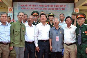 Phú Quốc: Hơn 1.500 cựu tù xúc động trong lễ '45 năm chiến thắng trở về'
