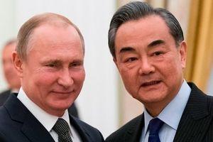 Cùng đối đầu Mỹ, Trung Quốc ca ngợi quan hệ với Nga 'cao nhất lịch sử'
