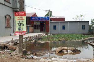 Bắc Ninh: Công ty sơn Apex xây dựng khi chưa có ĐTM