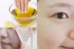 Dùng dầu ô liu dưỡng da mặt theo cách này, cả đời không cần đến mỹ phẩm đắt tiền