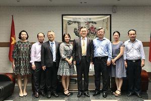 Đẩy mạnh GDNN, phát triển nhân lực giữa Việt Nam và Đài Loan (Trung Quốc)