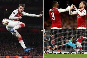 Arsenal 12 phút giải quyết gọn CSKA, Atletico thắng dễ