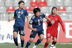 Asian Cup 2018: Tuyển nữ Việt Nam thua đậm á quân thế giới