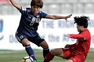 Bóng đá nữ: Việt Nam:0- 4:Nhật Bản: Không thể tạo ra địa chấn