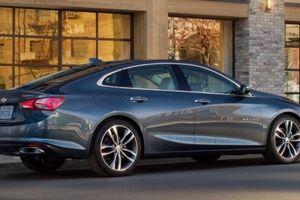 Chiếc ô tô sedan Chevrolet mới 'đẹp long lanh' giá từ 510 triệu đồng trình làng