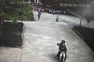 Triệu tâp nhóm học sinh cấp 3 mang hung khí vào trường cấp 2 đại náoLinh Nhi