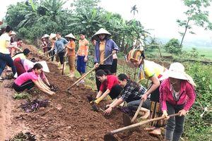 Phụ nữ Nghĩa Đàn phát động phong trào 'chung tay xây dựng nông thôn mới'