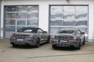Bắt gặp BMW M8 và M8 Convertible đang thử nghiệm trong lớp ngụy trang