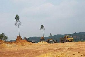 Phú Thọ: Giấy phép hết hạn, vẫn điềm nhiên khai thác đất?