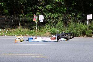 Đâm vào thùng rác, một nam thanh niên tử vong tại chỗ