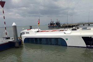 Toàn cảnh vụ chìm tàu cao tốc Cần Giờ khiến hàng chục hành khách hoảng loạn