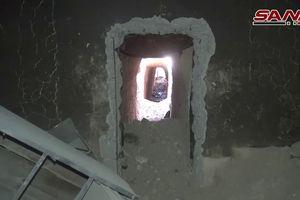 Quân đội Syria phát hiện đường hầm khổng lồ của phe thánh chiến ở tửa địa Đông Ghouta