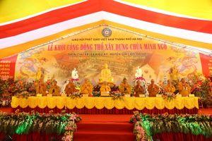 Hà Nội: Lễ khởi công xây dựng ngôi chùa cổ, được khai sáng từ thế kỷ thứ VI