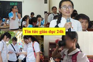 Tin tức giáo dục 24h: Thay đổi lớn trong tuyển sinh đầu cấp tại Hà Nội; Khởi kiện cô giáo bắt học sinh uống nước giặt giẻ lau bảng