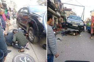 Tạm giữ tài xế vụ ô tô tông liên hoàn khiến bé 7 tuổi tử vong