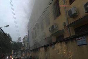Hải Phòng: Cháy tại trường tiểu học, một số phòng bị hư hỏng