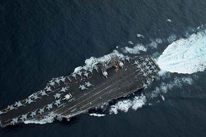 Tàu sân bay Mỹ, Trung Quốc cùng hiện diện ở Biển Đông