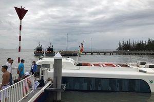 Tàu cao tốc Vũng Tàu - TP.HCM gặp sự cố ở Cần Giờ