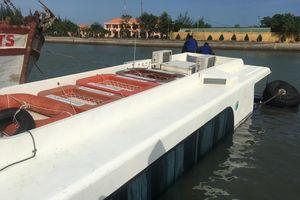 Trục vớt xong tàu cao tốc gặp nạn ở biển Cần Giờ
