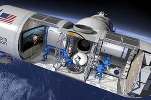 Khai trương khách sạn trên không gian vào cuối năm 2021