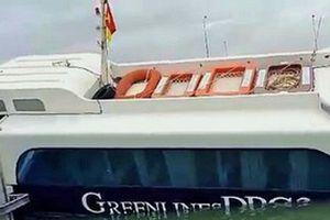 TP.HCM: Nguyên nhân bước đầu khiến tàu cao tốc bị chìm