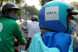 Ứng dụng Uber tại Việt Nam chính thức ngừng hoạt động