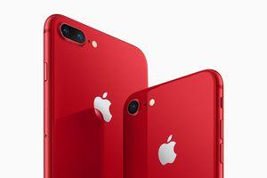 Apple chính thức ra mắt iPhone 8 và iPhone 8 Plus phiên bản đỏ đặc biệt