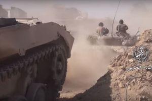 Nga yểm trợ quân đội Syria đánh quỵ địch, buộc nhóm thánh chiến ngoan cố ở Đông Ghouta đầu hàng