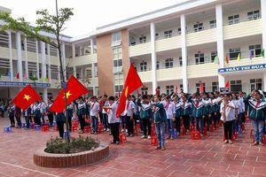 Trường THCS Thị trấn Phú Minh 'Gắn dạy chữ với dạy người'