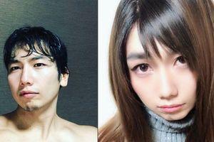 Màn giả gái gây sốc của vận động viên thể hình Nhật Bản